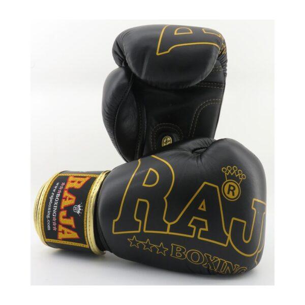 Guantes Raja Boxing Special Piel Negro