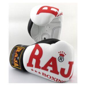 Guantes Raja Boxing Special Piel Blanco