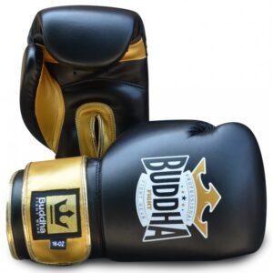 Guantes Buddha Top Fight Negro/Oro