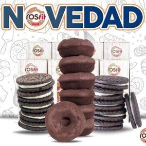 Ros fit Donuts Black Cookie