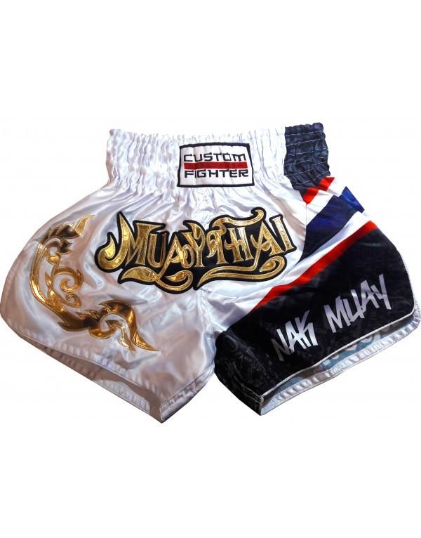 Short Muay Thai Flag de Custom Fighter