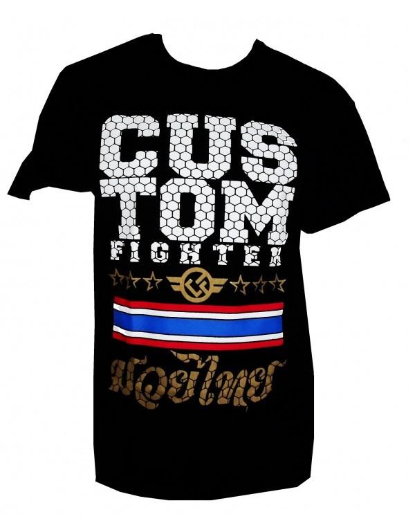 Camiseta Custom Fighter Muay Thai
