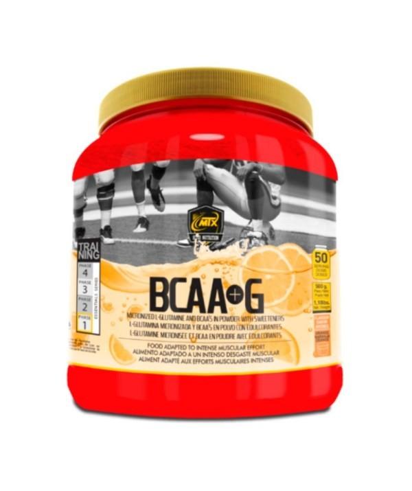 BCAA + GLUTAMINA 500 Gr de Mtx Nutrition