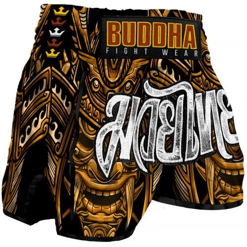 Short Retro Inca Buddha