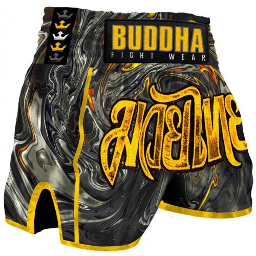 Short Retro Turbulence Buddha