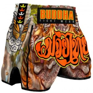 Short Retro Tiguer Buddha