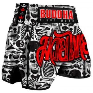 Short Retro Skeletor Buddha